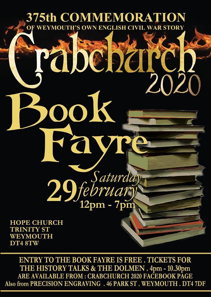 Crabchurch book fayre 2020